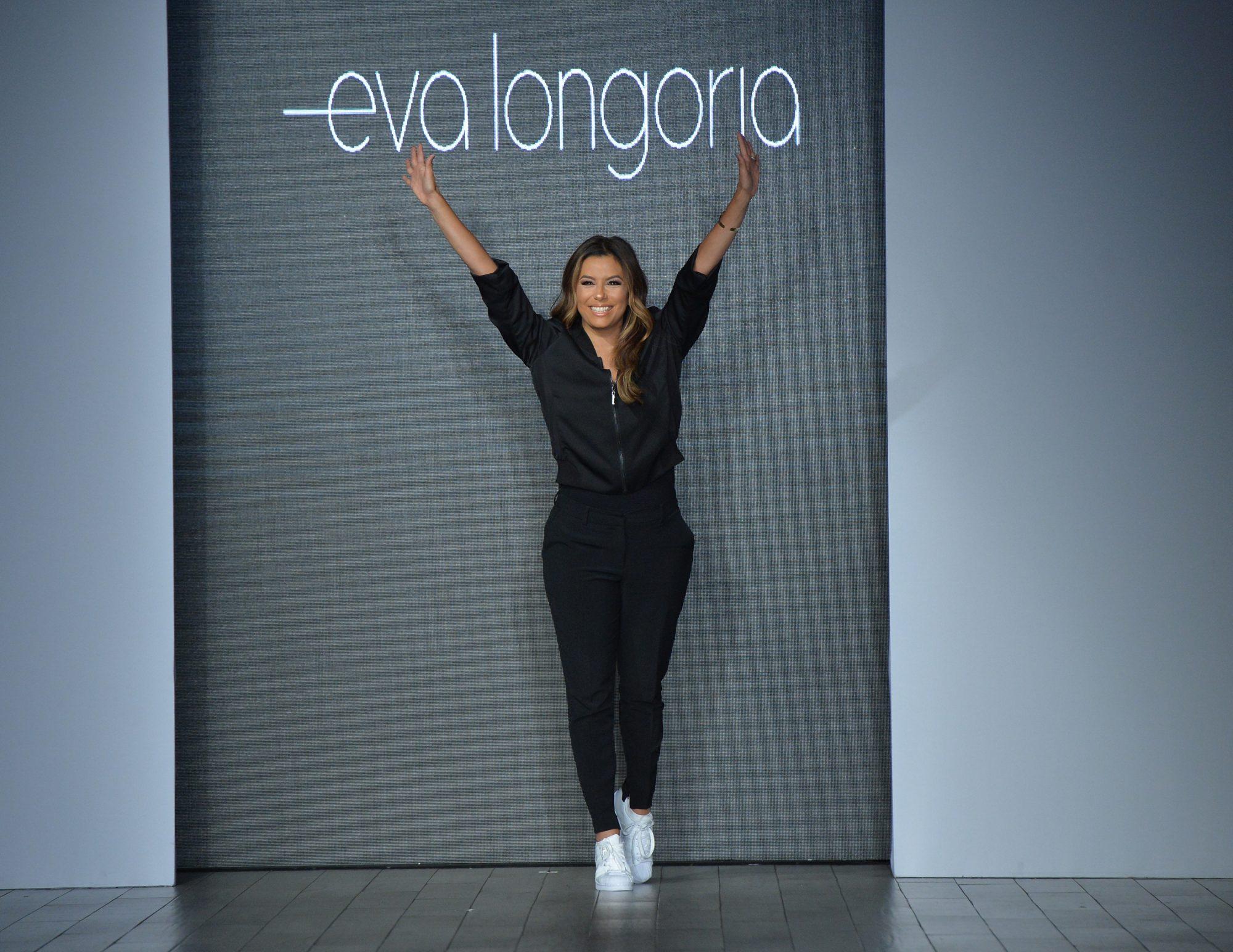 Eva longoria, coleccion, show, semana de la modad, nyfw