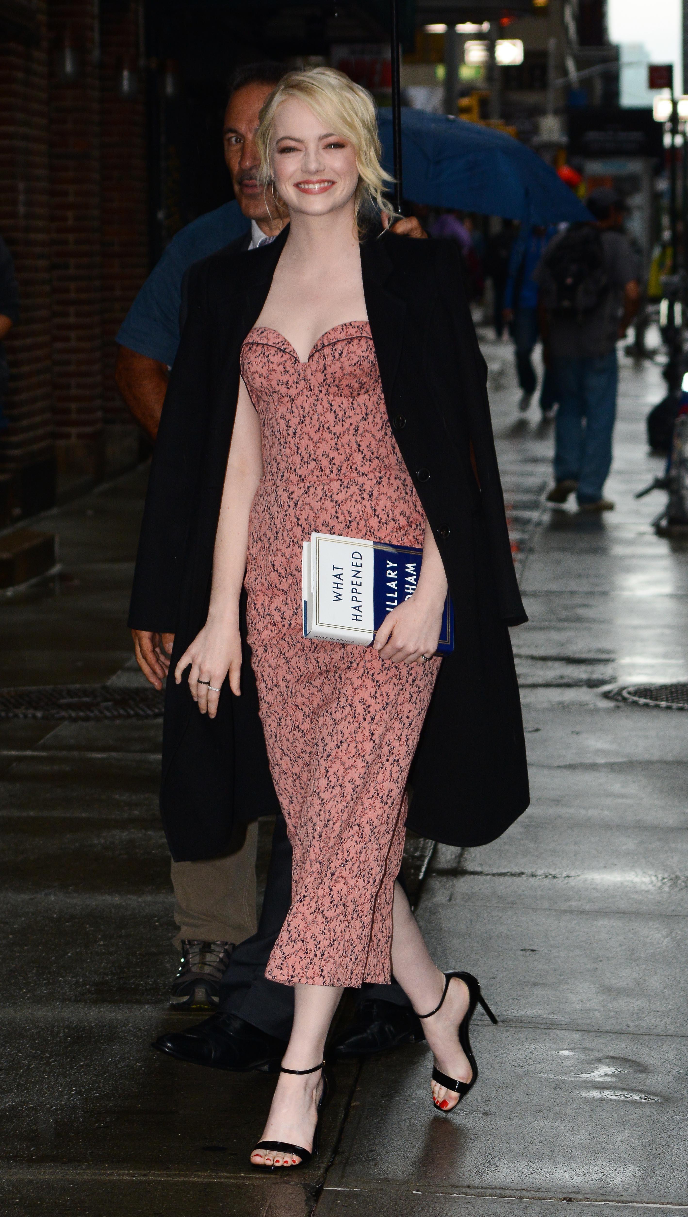 Celebrity Sightings In New York City - September 19, 2017