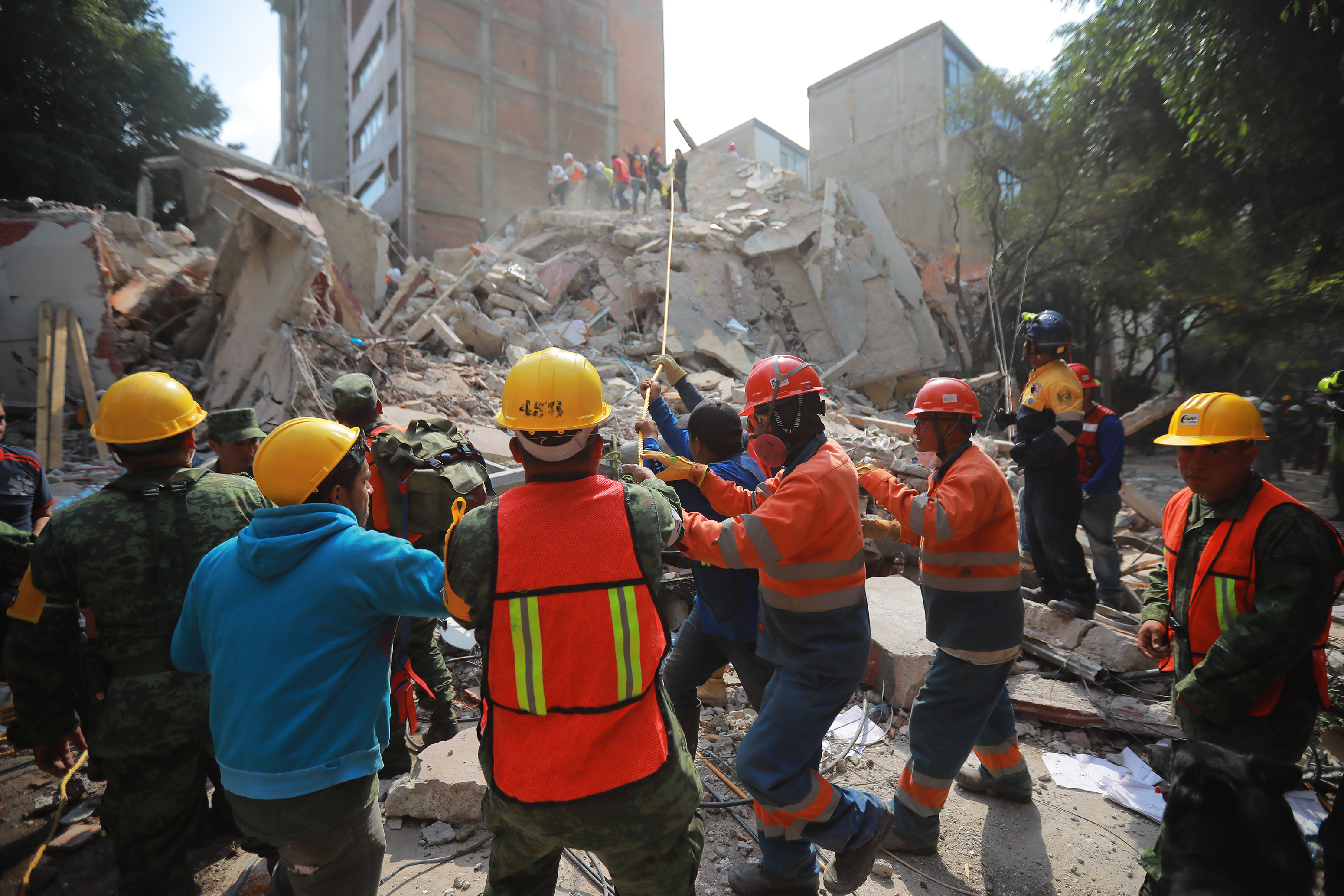 Terremoto en Mexico