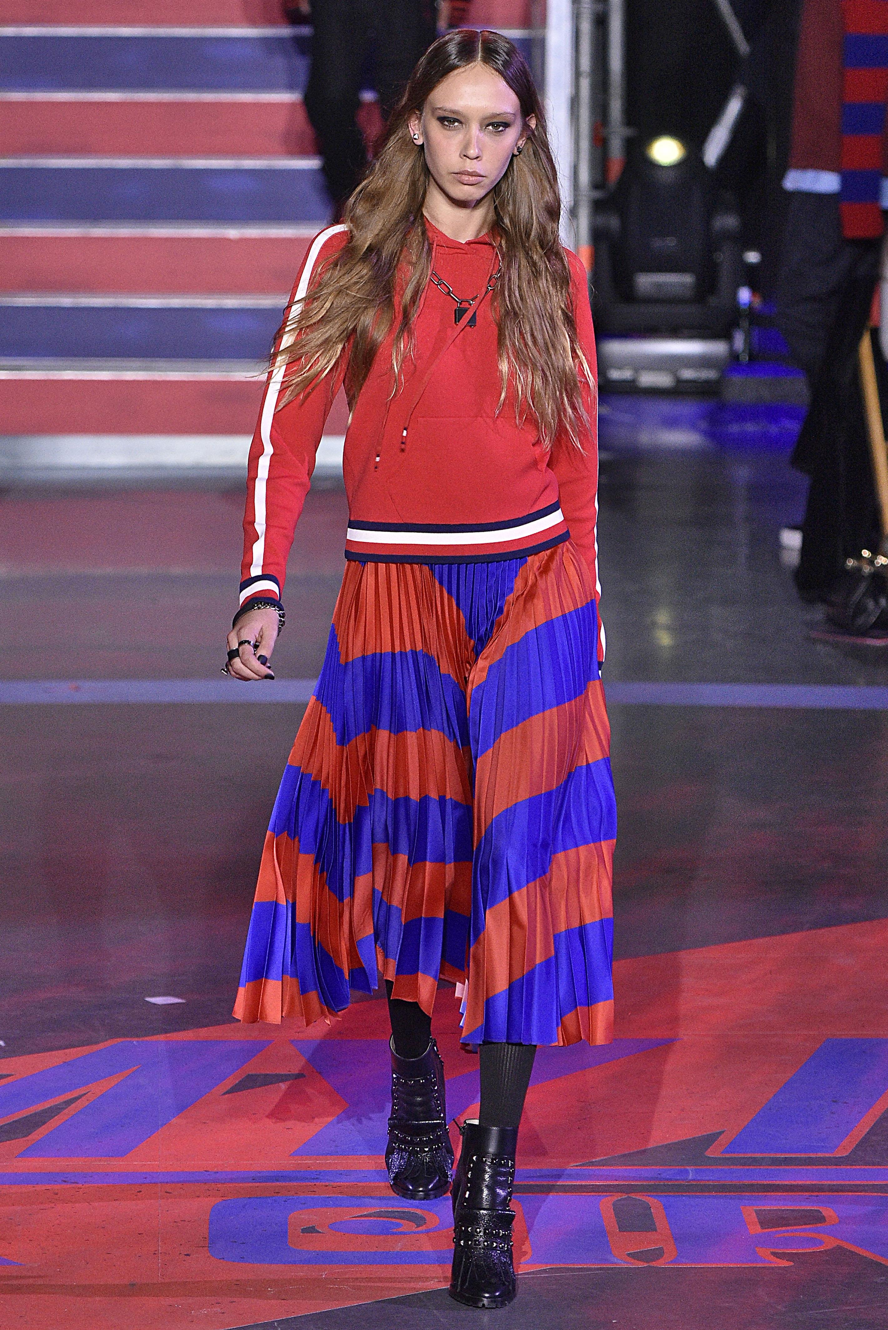Gigi Hadid, desfile, Tommy hilfiger, show, desfile, londres