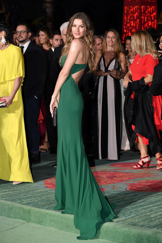 Gisele Bundchen, green carpet fashion, moda, vestidos, estilo, style