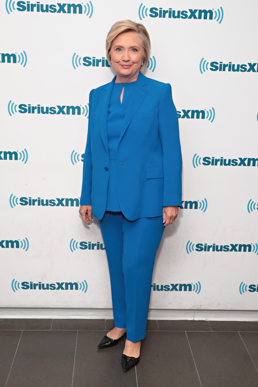 Hillary Clinton, libro, What Happened, belleza, maquillaje, peinado, rutina, horas