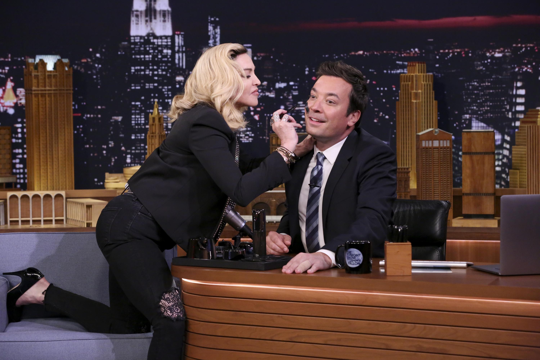 Madonna y Jimmy Fallon