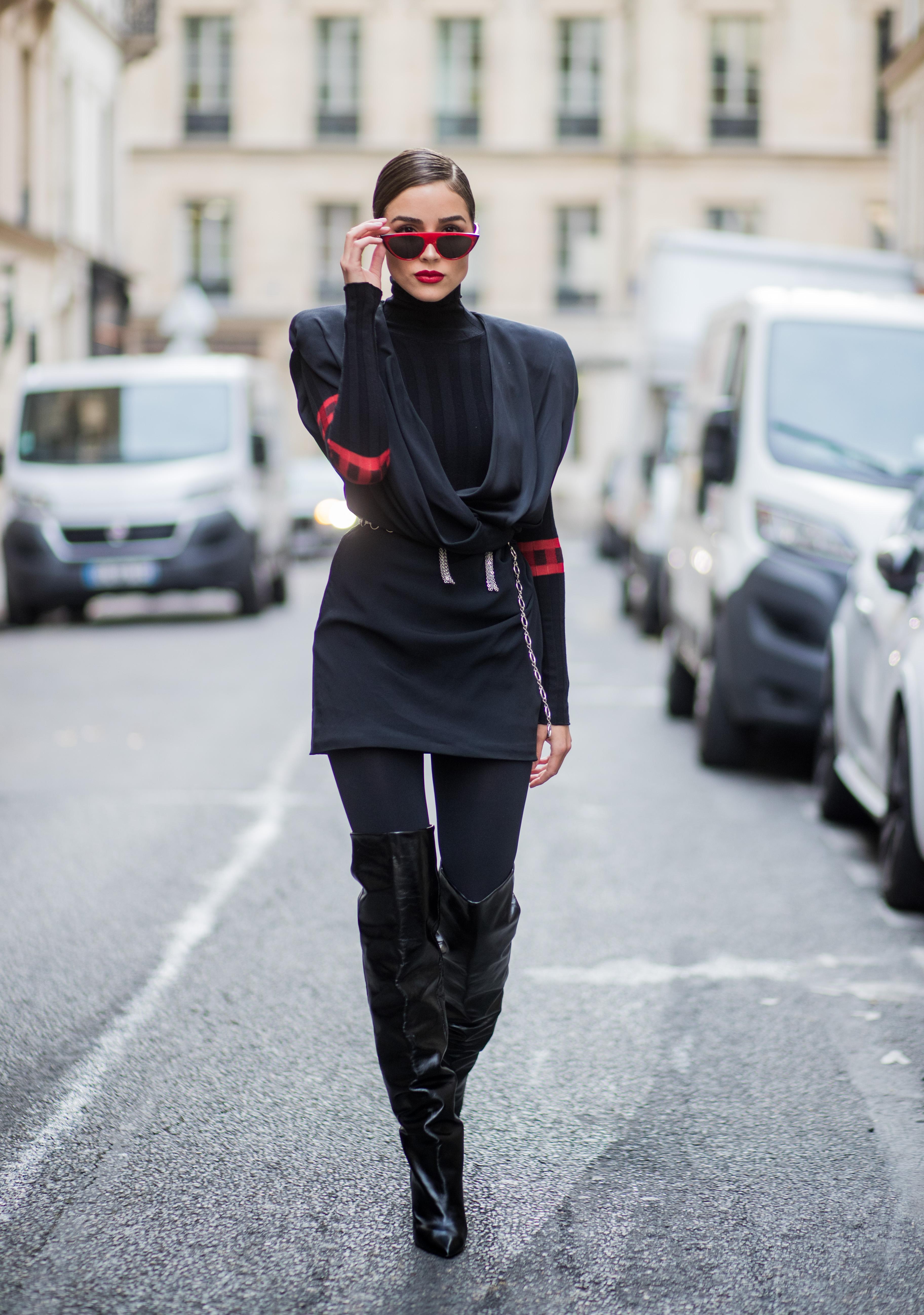 Olivia Culpo, looks, estilo, style, paris