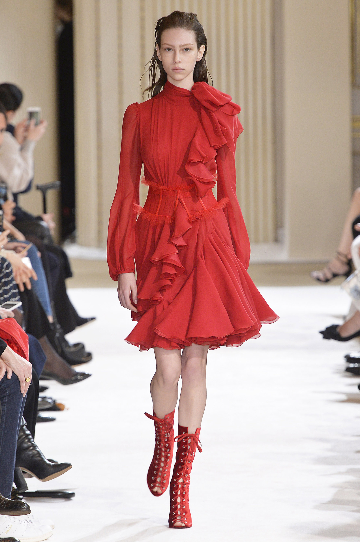 rojo, tendencia, moda, estilo