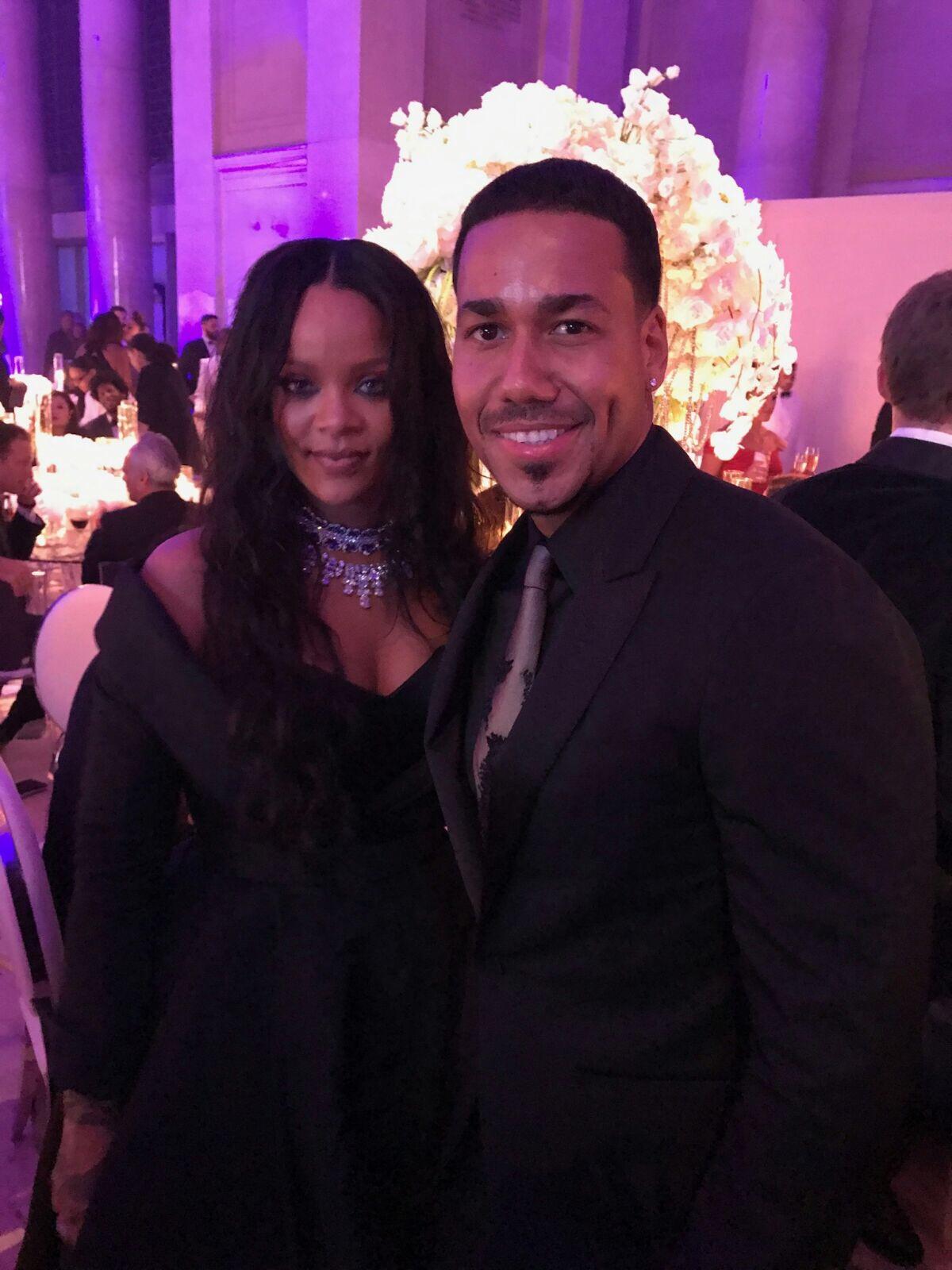 Rihanna y Romeo Santos
