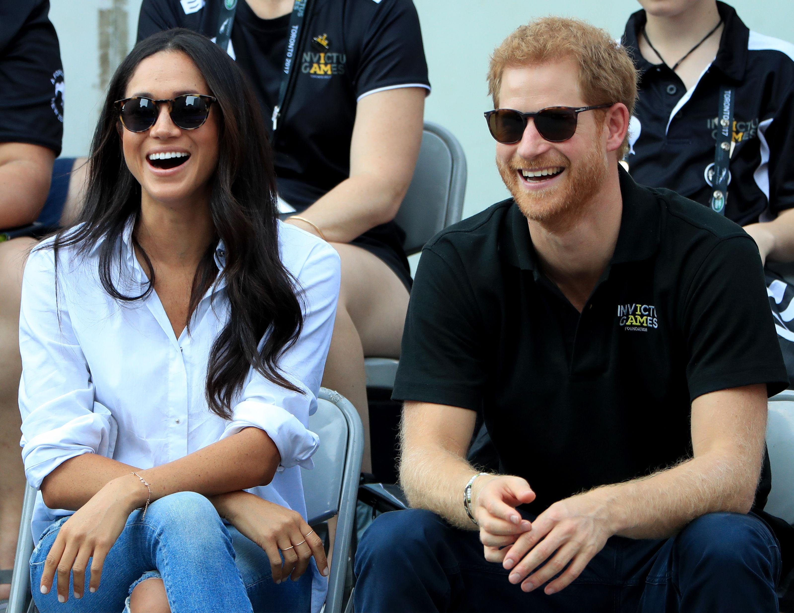 El príncipe Harry meghan markle
