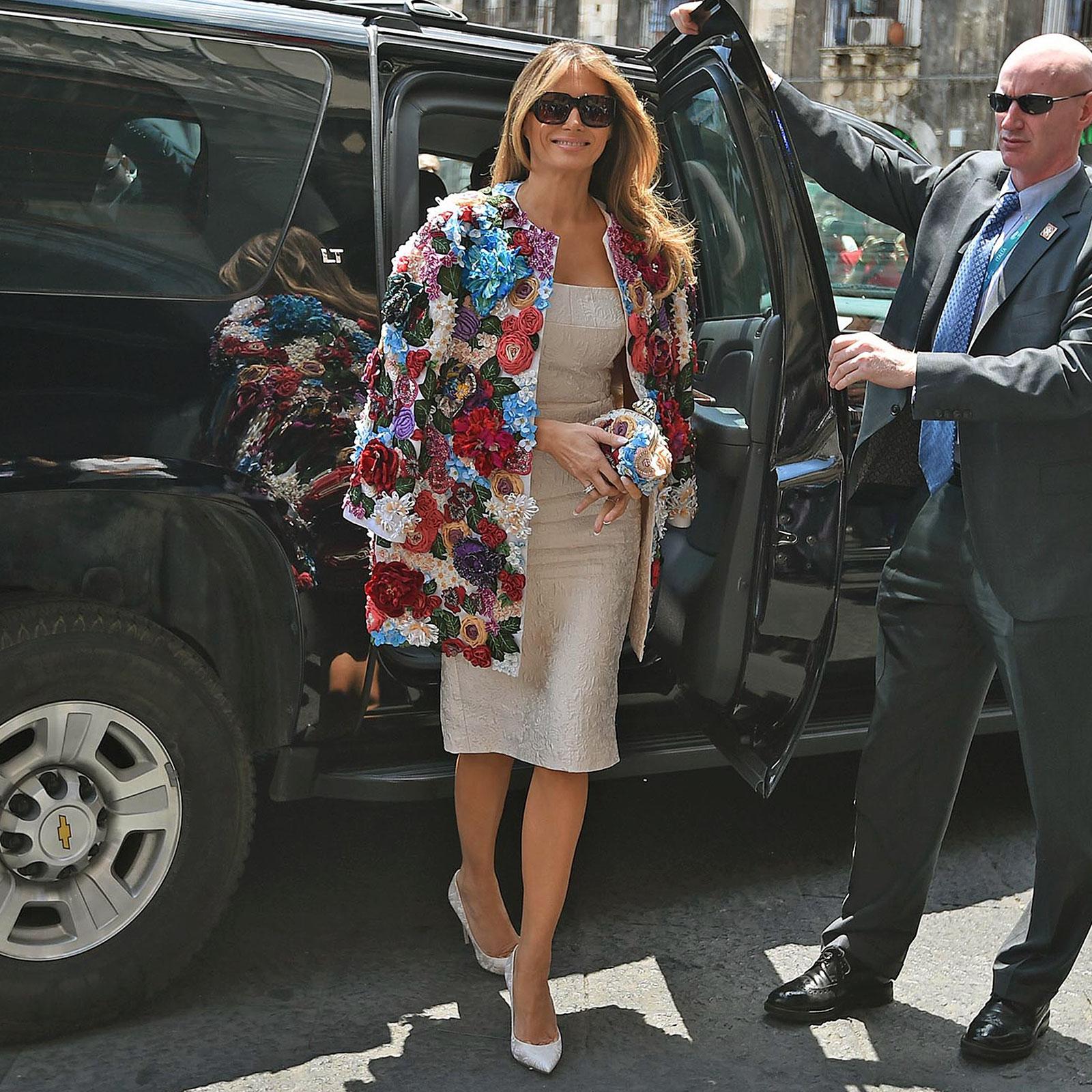 Melania Trump, looks, estilo, style, primera dama