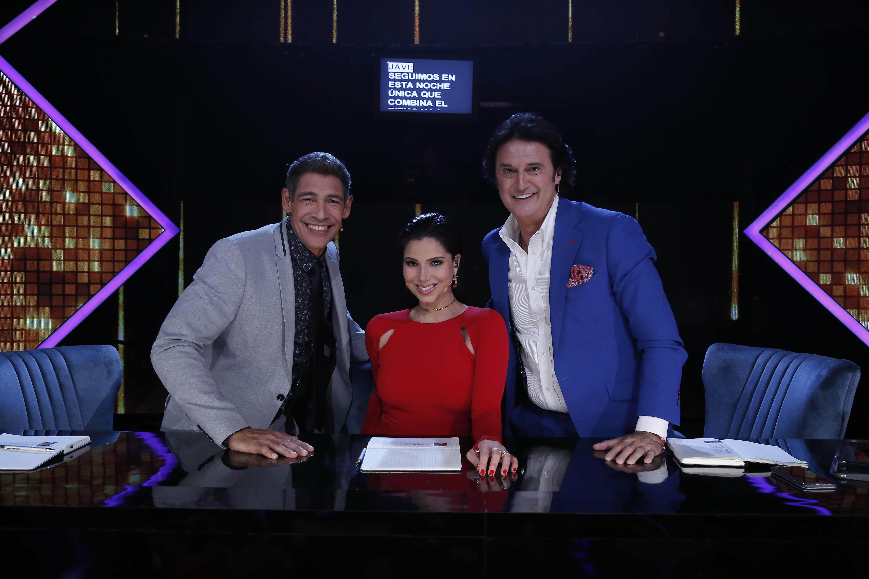 Johnny Lozada, Roselyn Sánchez y Javier 'Poty' Castillo