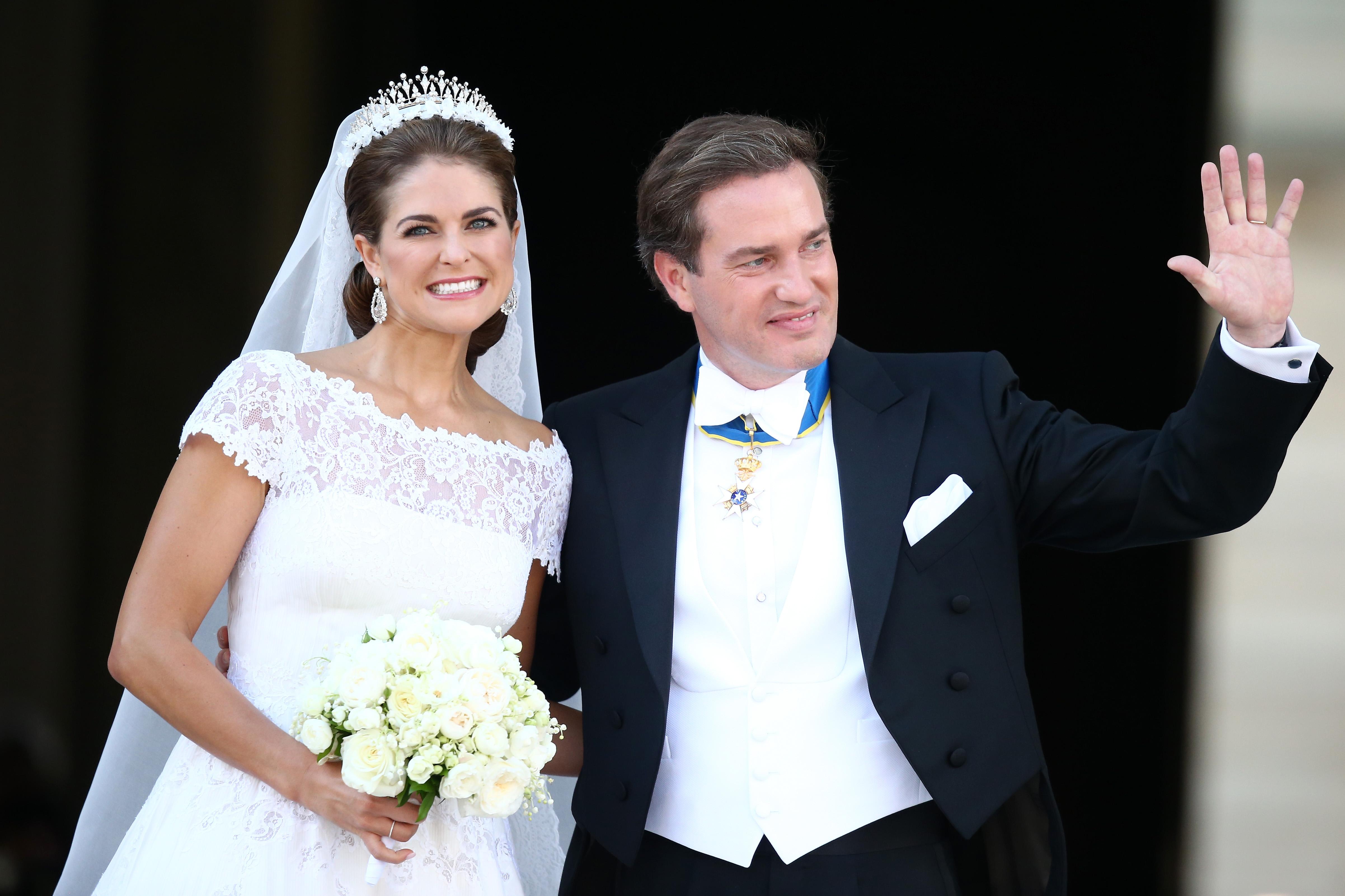 princesa magdalena Christopher O'Neill