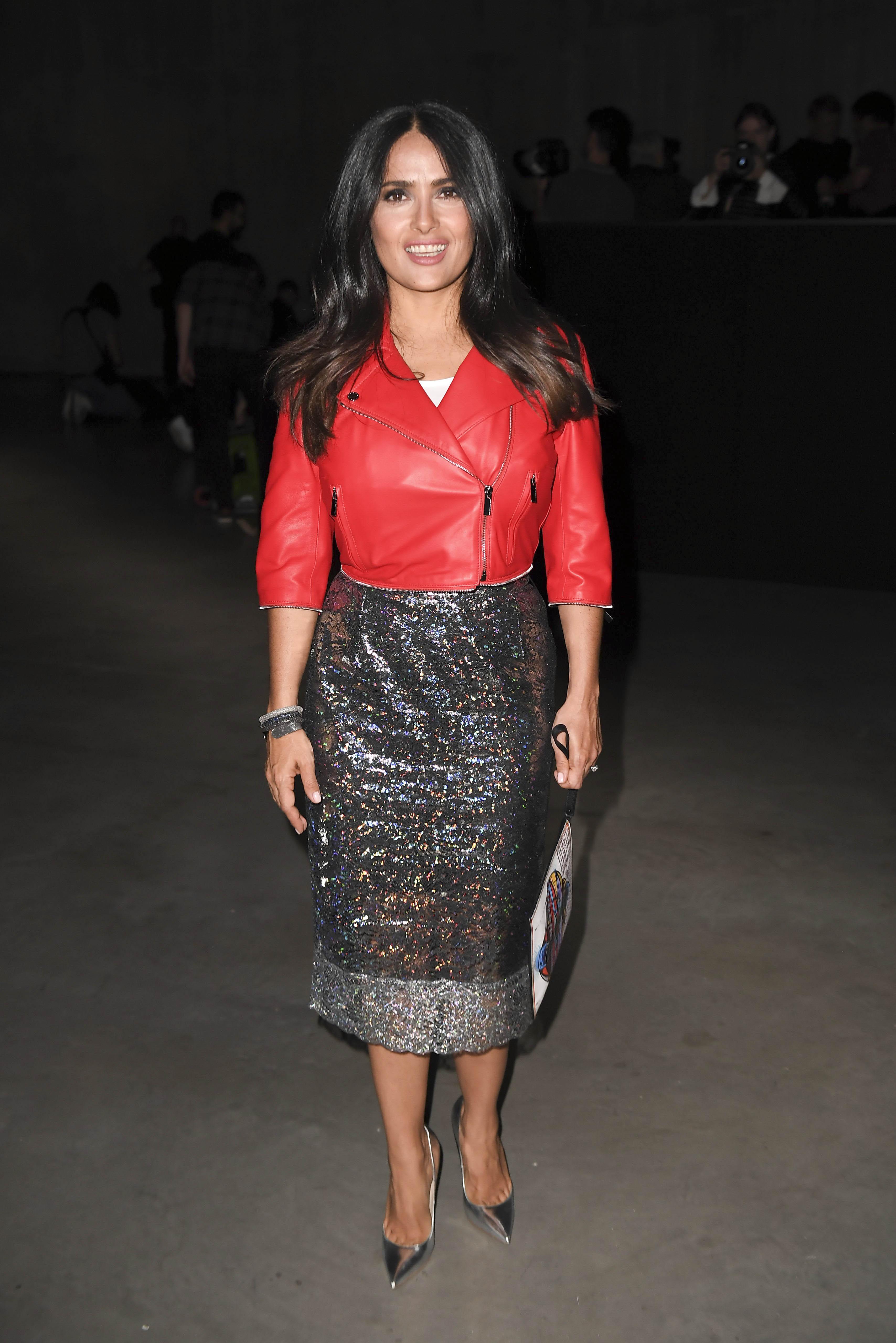 Salma Hayek, looks, estilo, style, londres