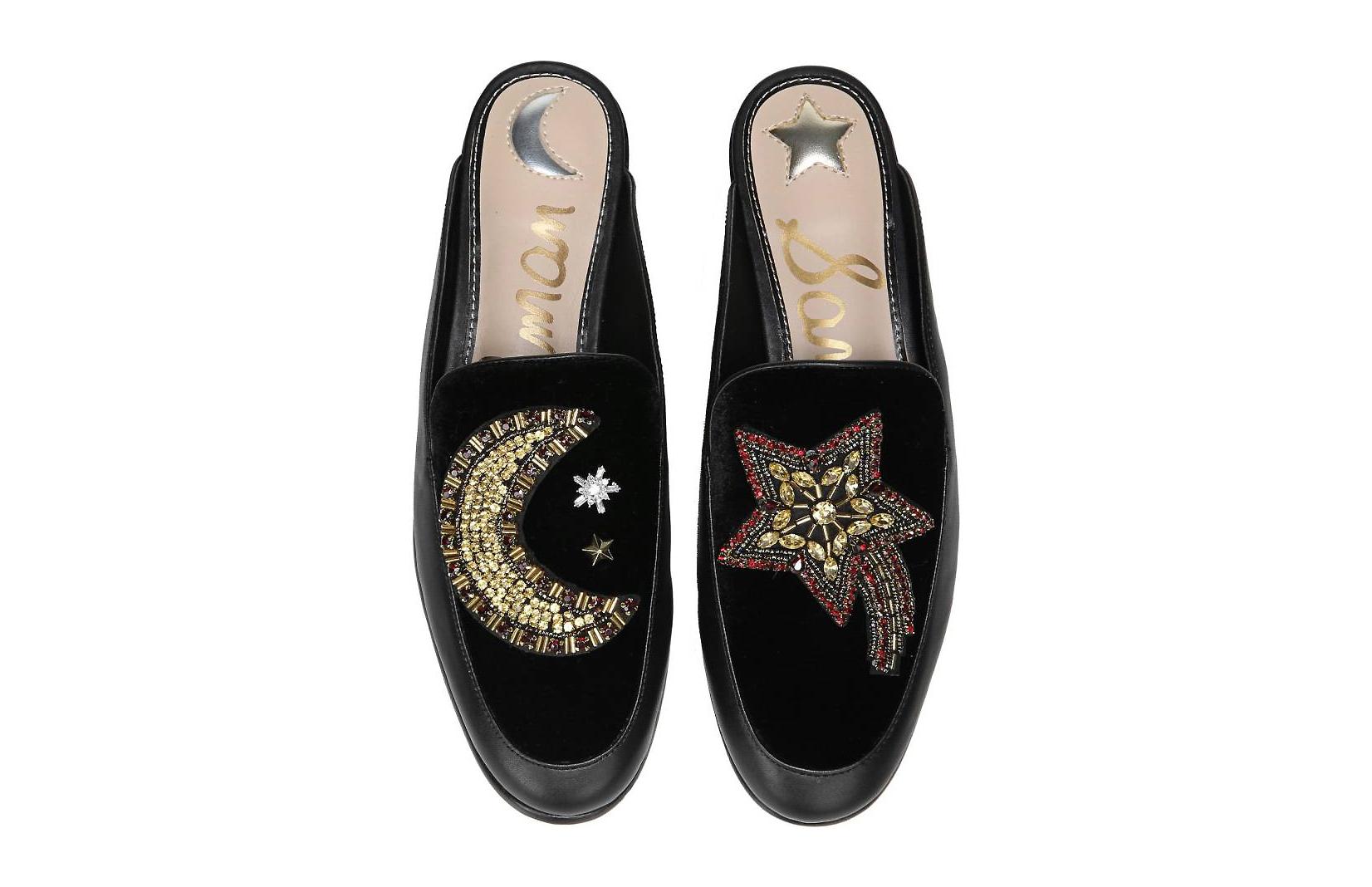 zapatos, bordados, tendencia, moda, 2017, otoño