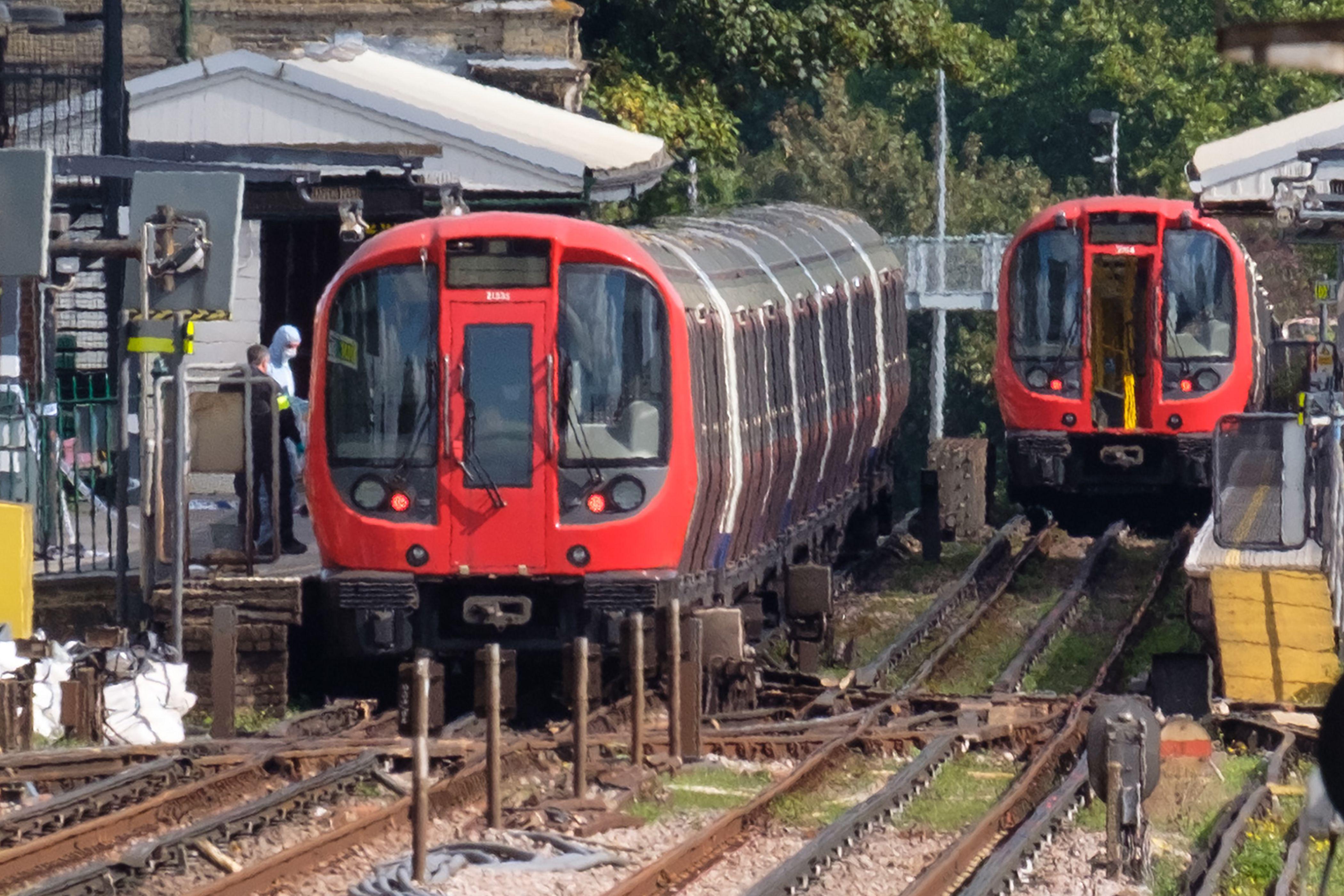 Ataque en tren en Londres