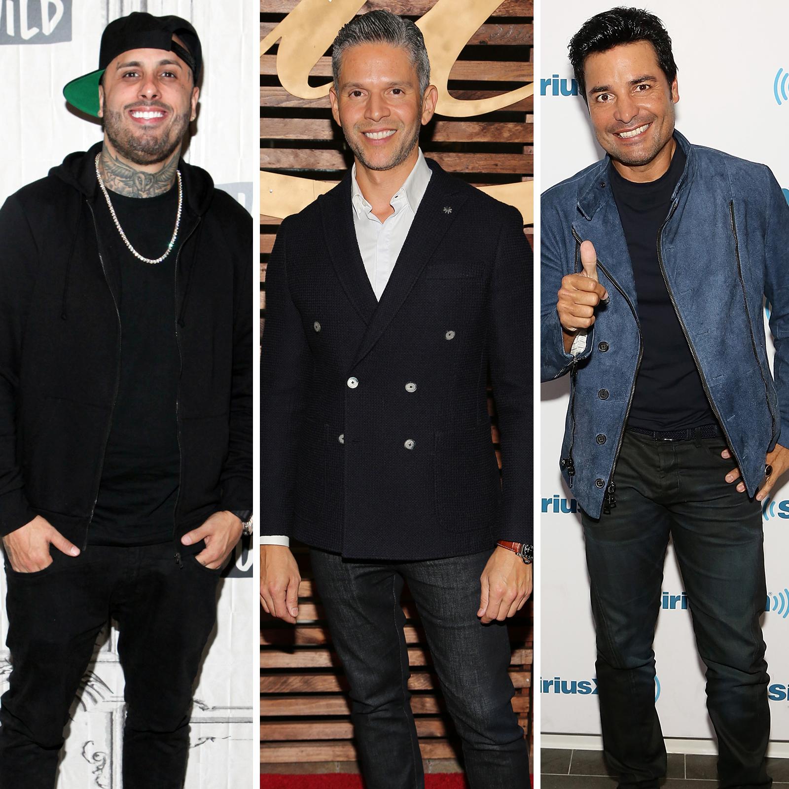 Nicky Jam, Rodner Figueroa y Chayanne