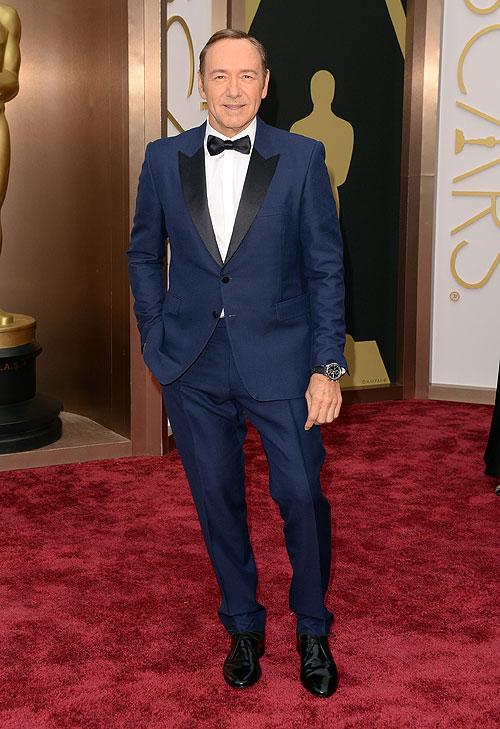 Kevin Spacey, ellos en la alfombra Premios Oscar 2014