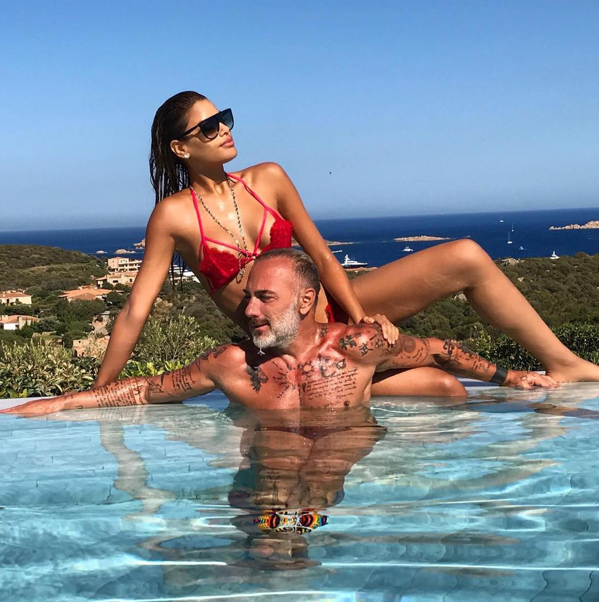 Ariadna Gutierrez y Gianluca Vacchi