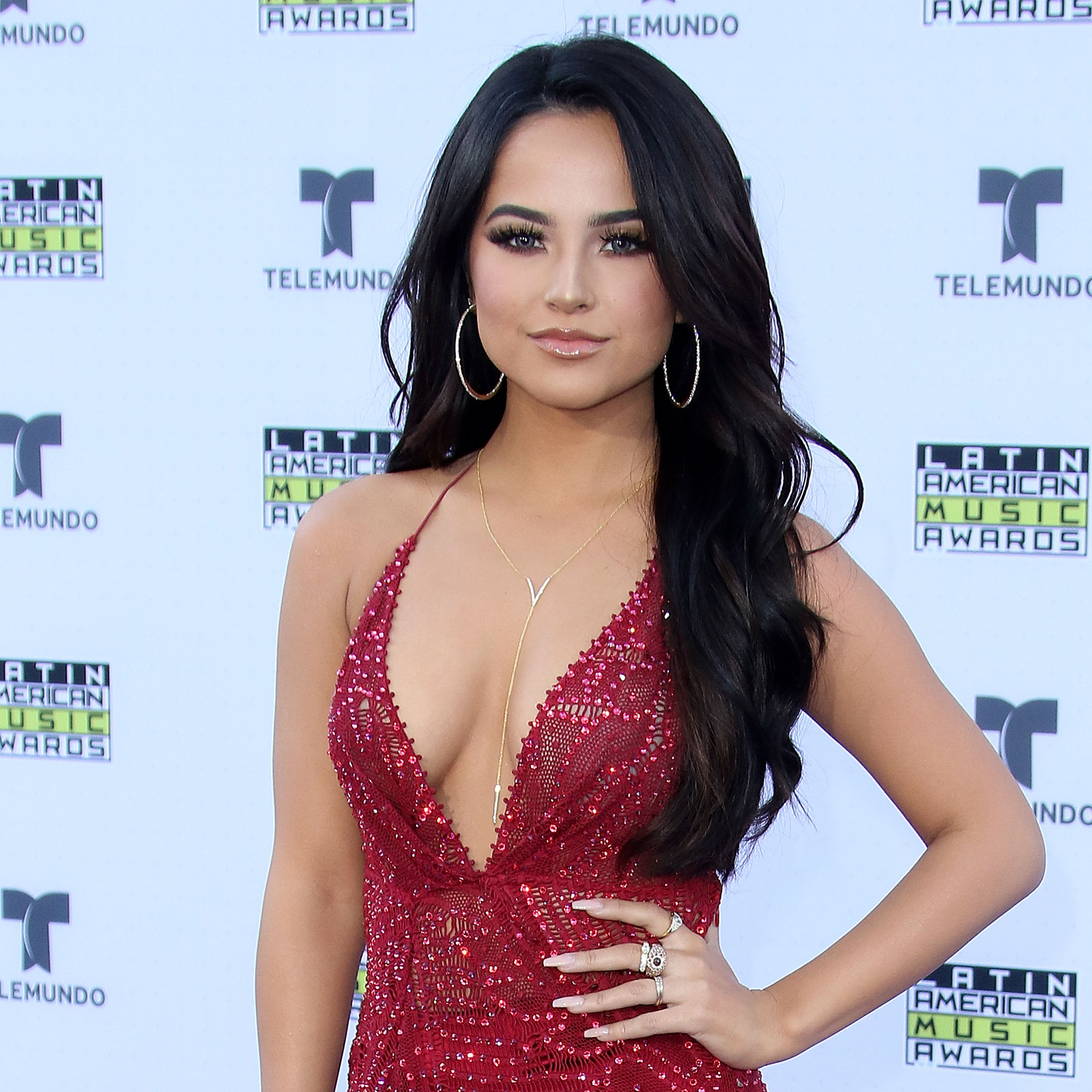Becky G, latin american music awards, look, belleza,