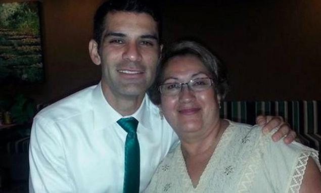 Rafael Márquez y Rosa Alicia Álvarez