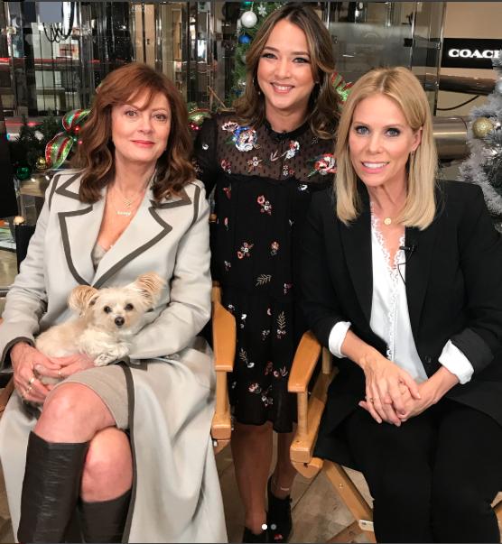 Adamari López, Susan Sarandon y Cheryl Hines