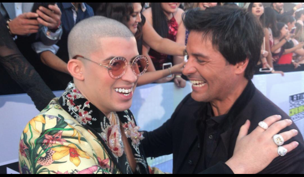 Chayanne y Bad Bunny Latina American Music Awards