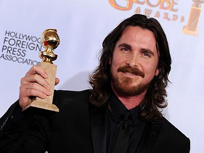 Christian Bale gana su primer Golden Globe