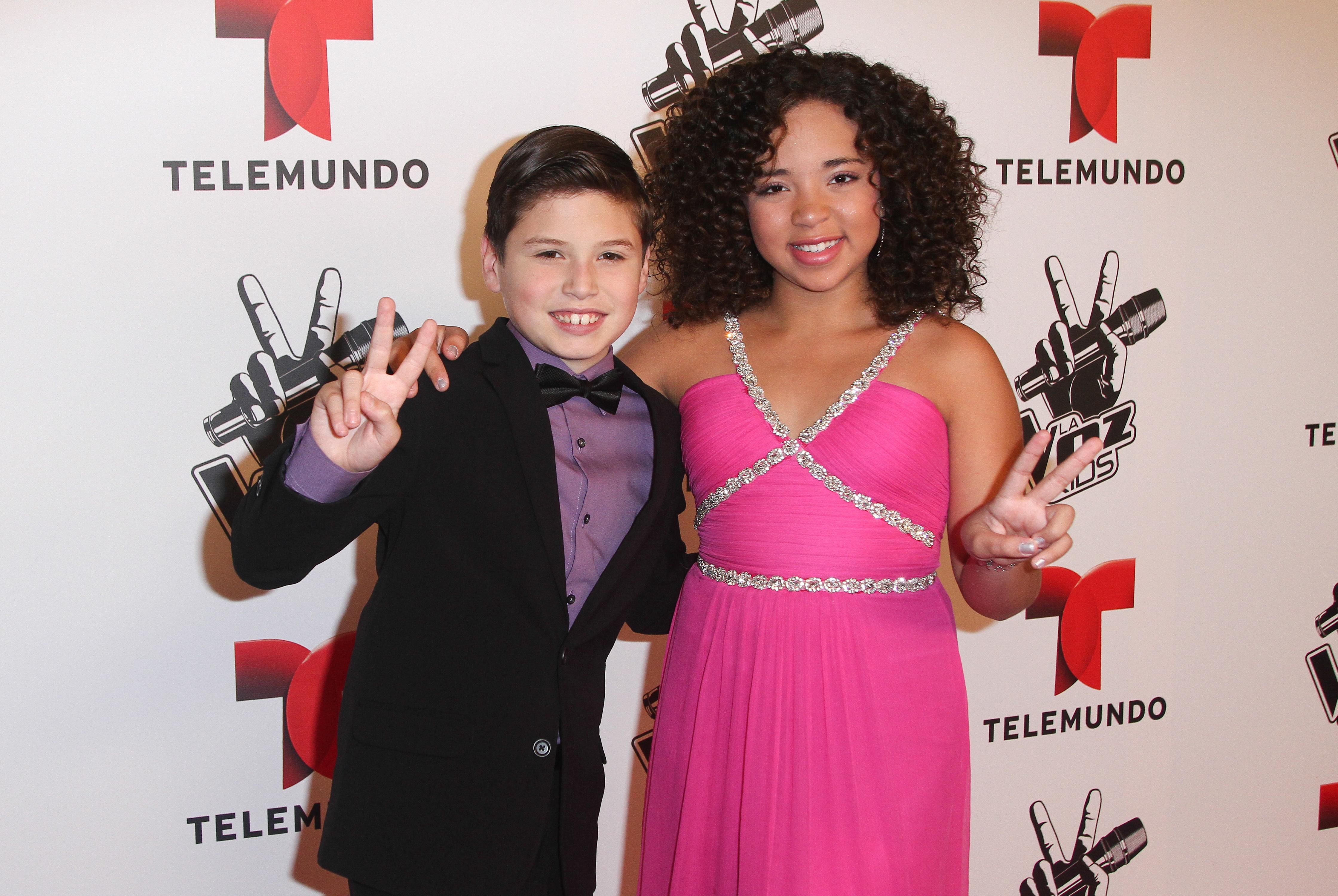 "Telemundo's ""La Voz Kids"" Finale"