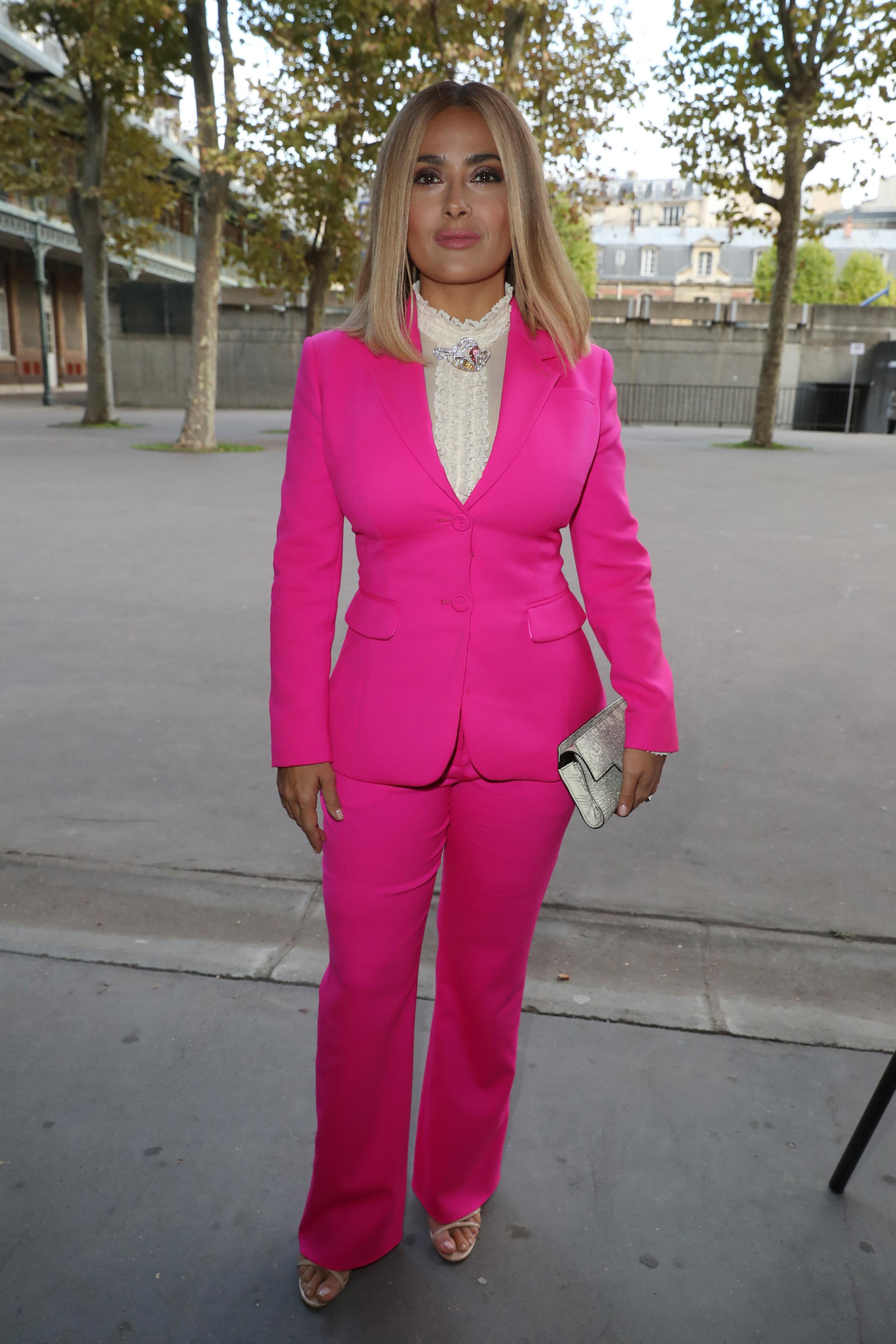 Salma Hayek, looks, estilo, style, Paris