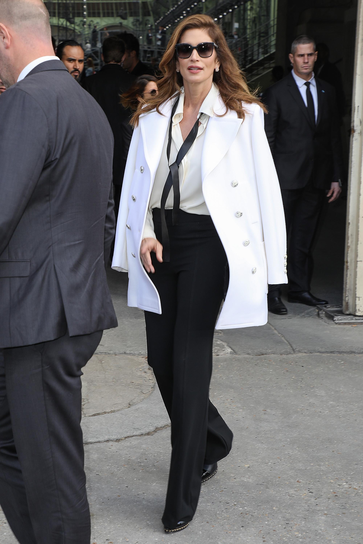 Cindy Crawford, estilo, style, Paris, look