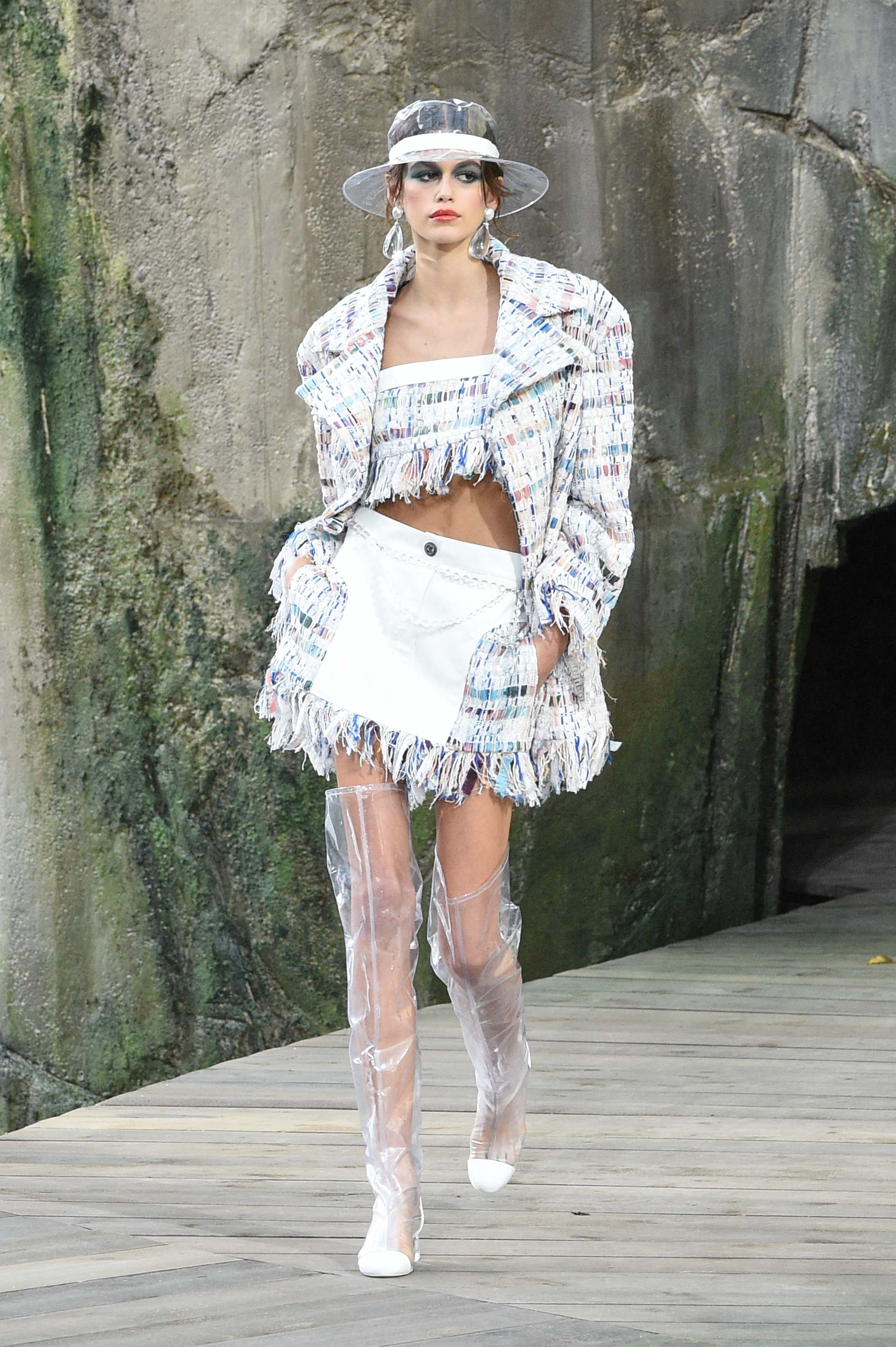 Chanel, Kaia Gerber, Paris, show, desfile
