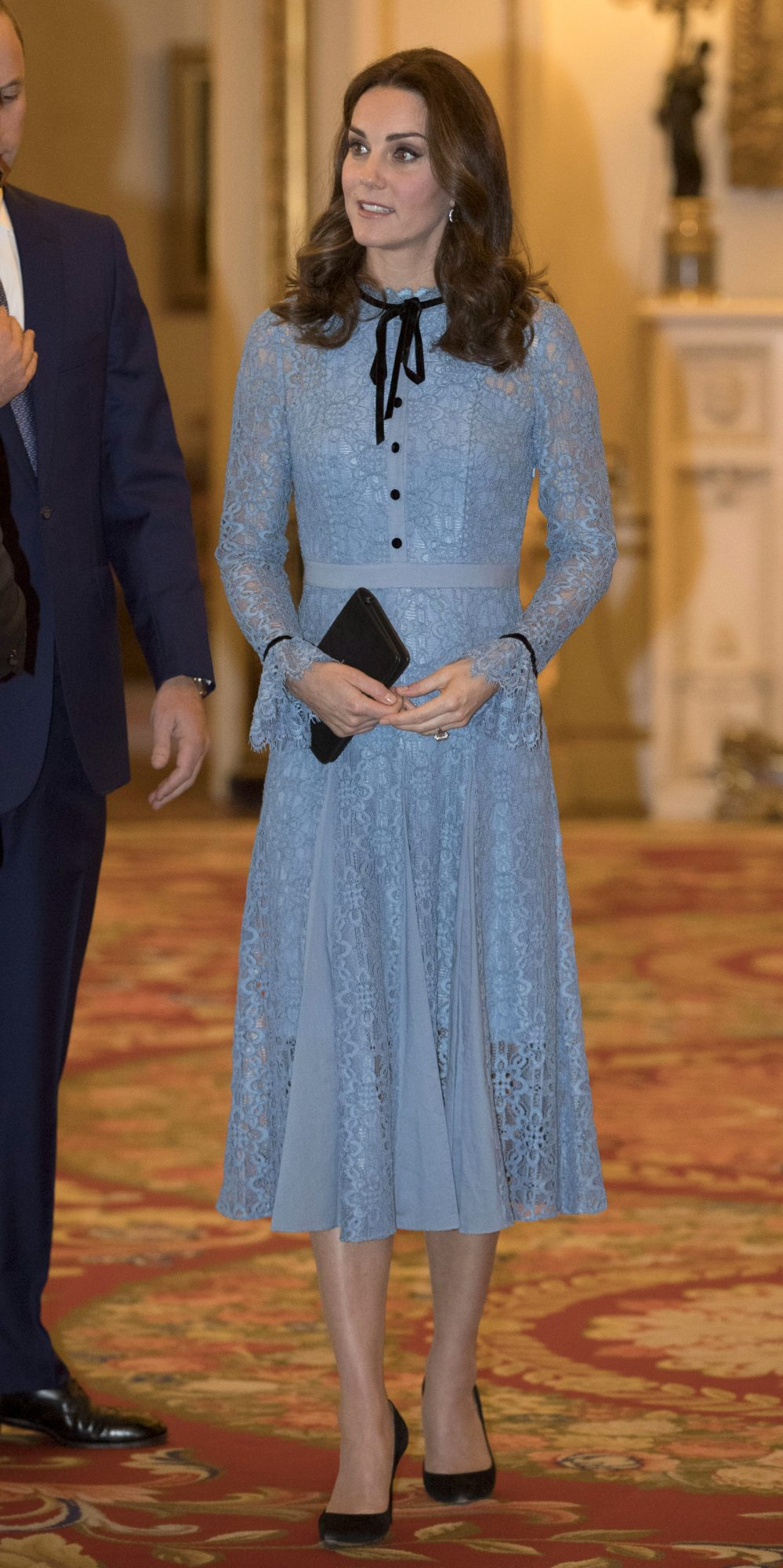 Kate Middleton, looks, estilo, embarazo, vestido, aparicion, temperly london, style