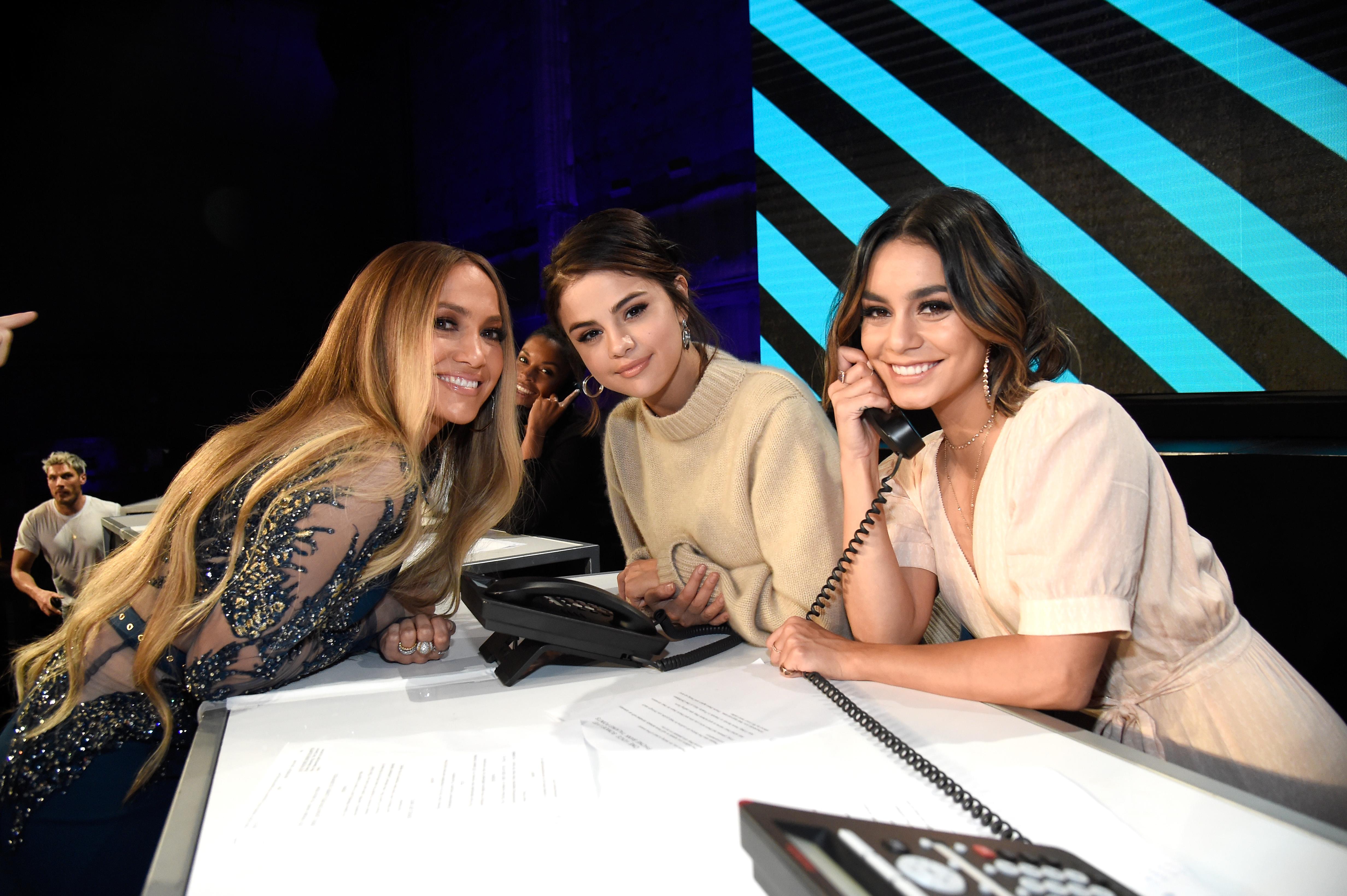 Jennifer Lopez, Selena Gomez, actor Vanessa Hudgens