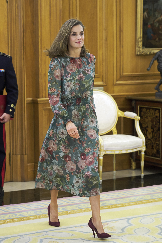 Letizia Ortiz, reina letizia, looks, vestido, zara