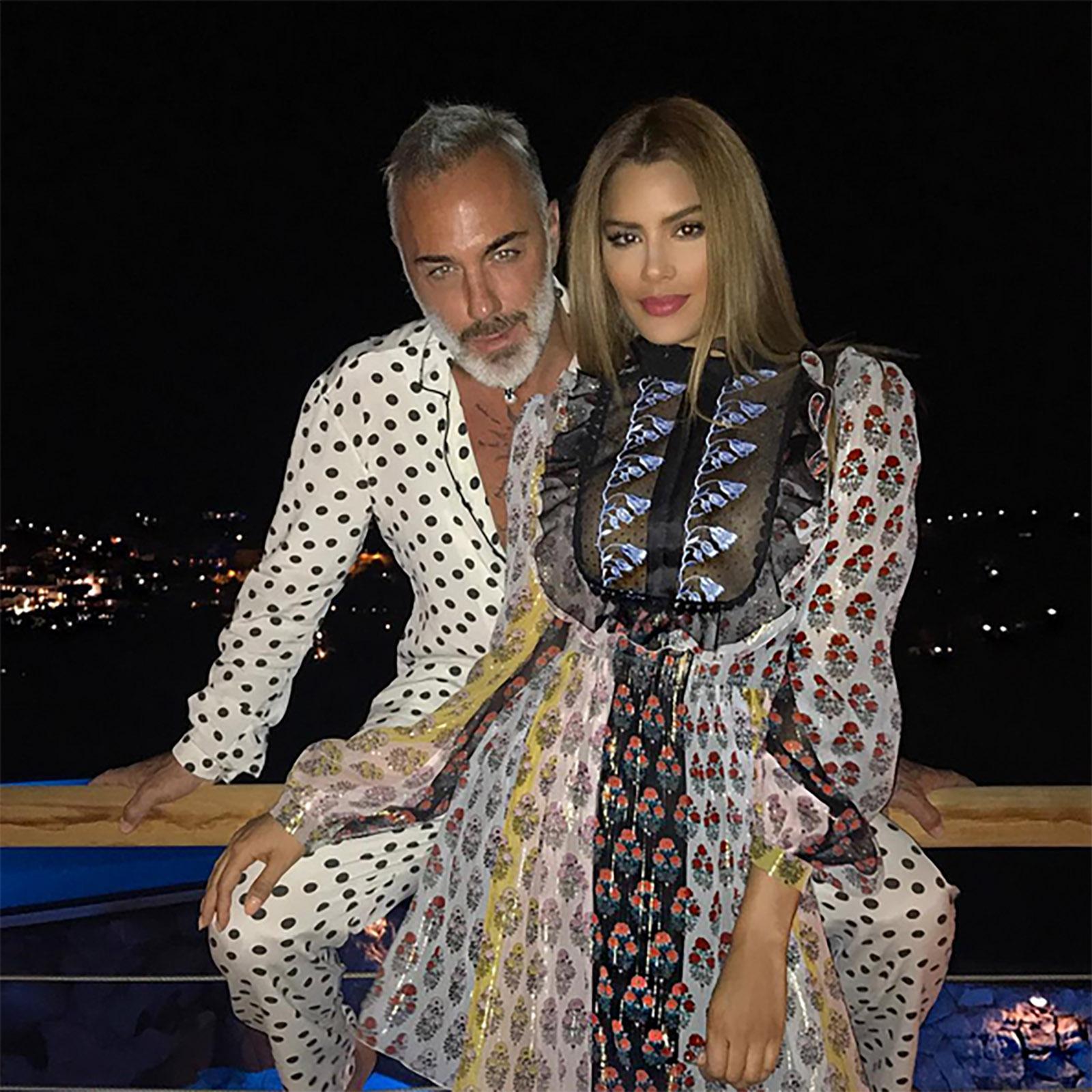 Gianluca Vacchi y Ariadna Gutierrez