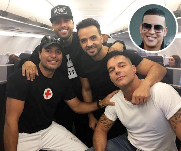 Chayanne, Nicky Jam, Luis Fonsi, Ricky Martin y Daddy Yankee