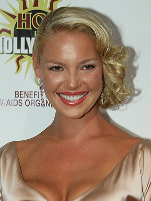 Katherine Heigl, Holiday hairstyles