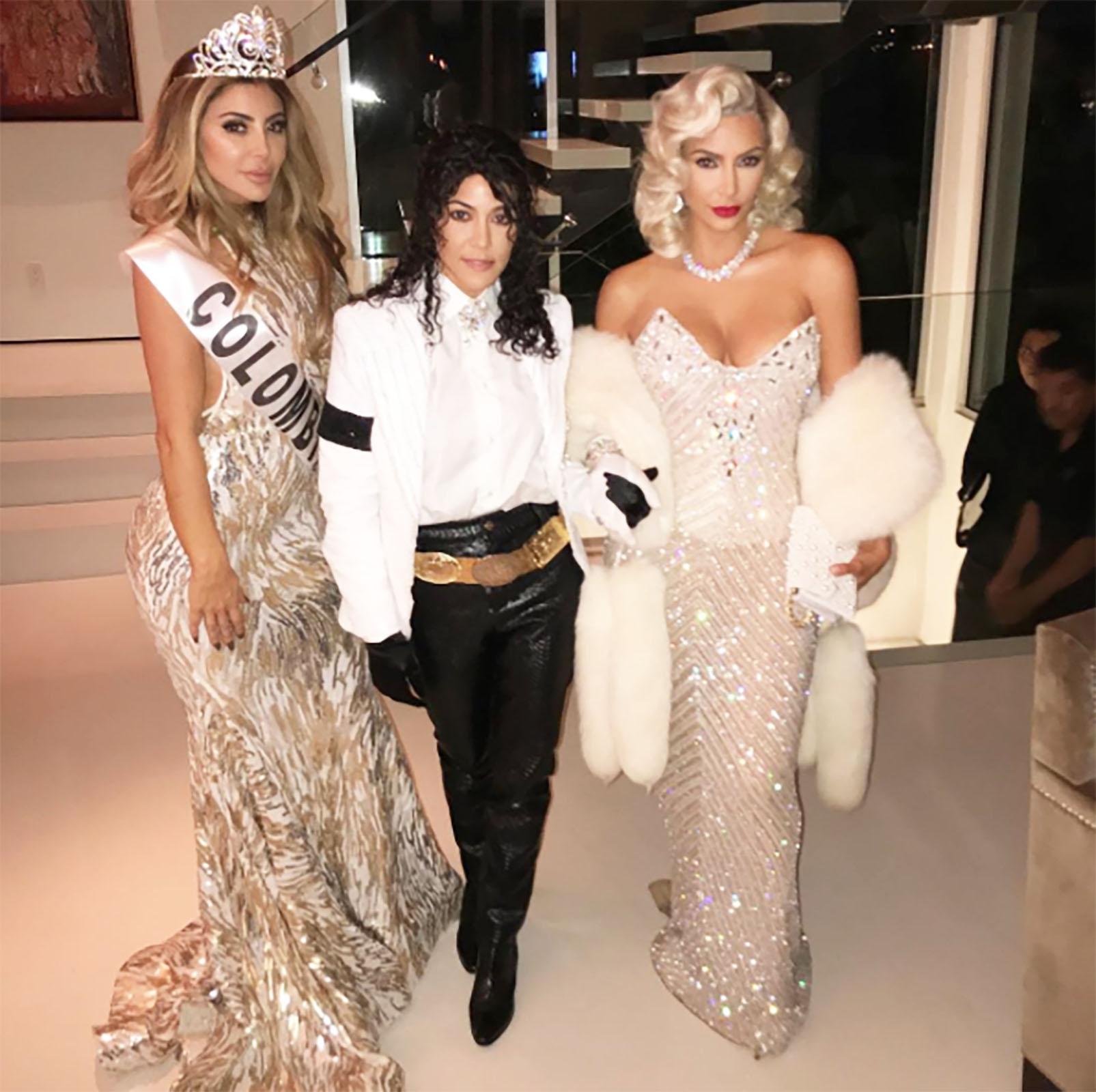 Larsa Pippen, Kourtney Kardashian y Kim Kardashian
