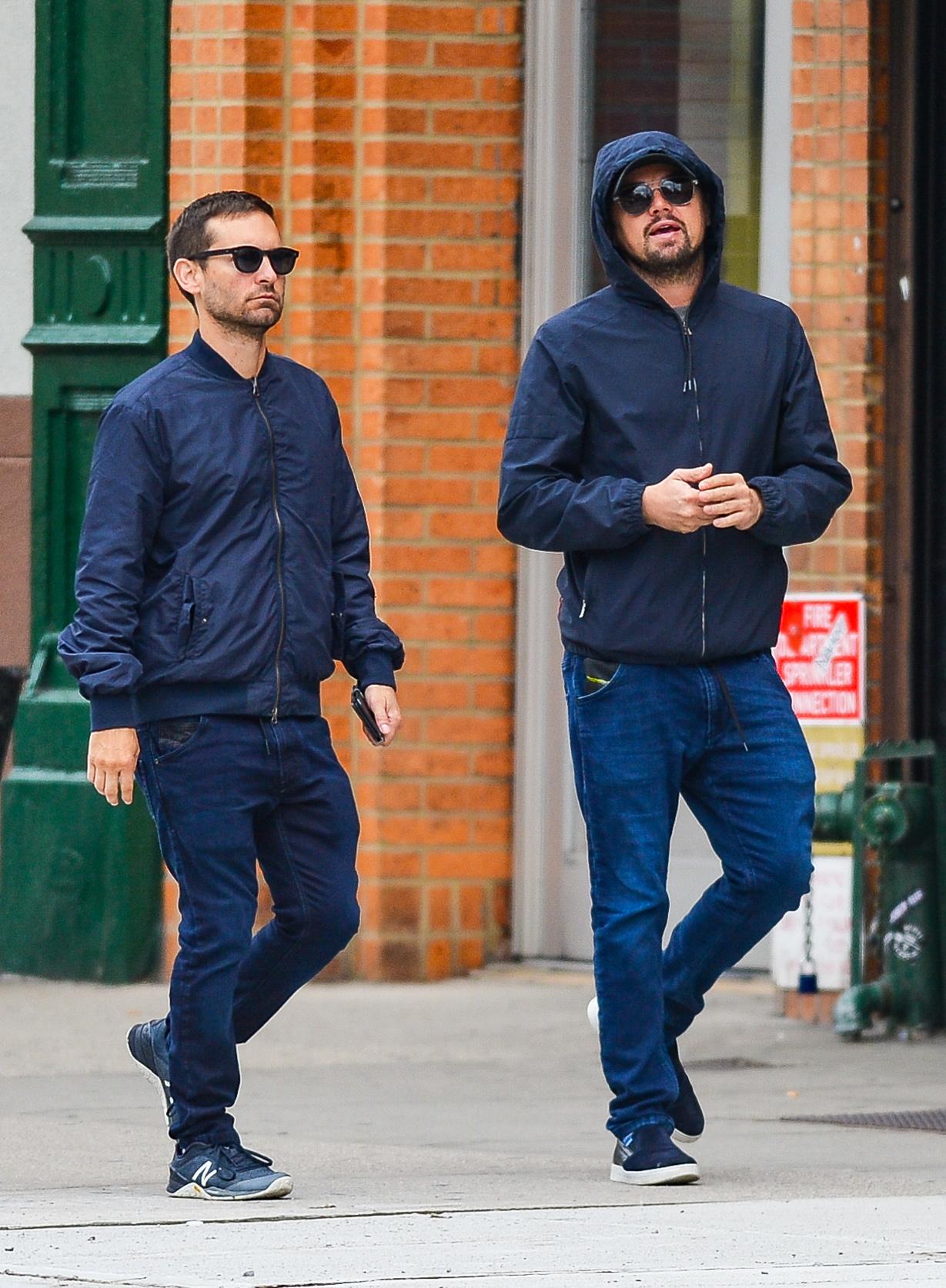 Leonardo DiCaprio, Tobey Maguire
