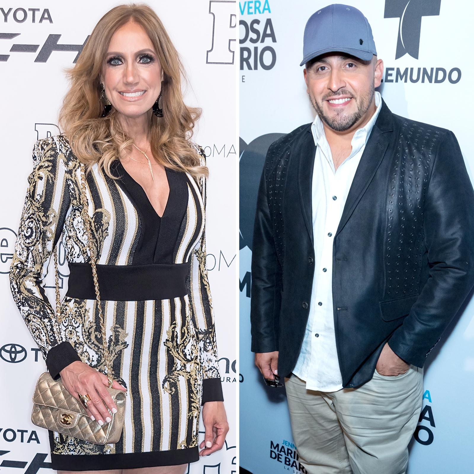 Lili Estefan y Juan Rivera