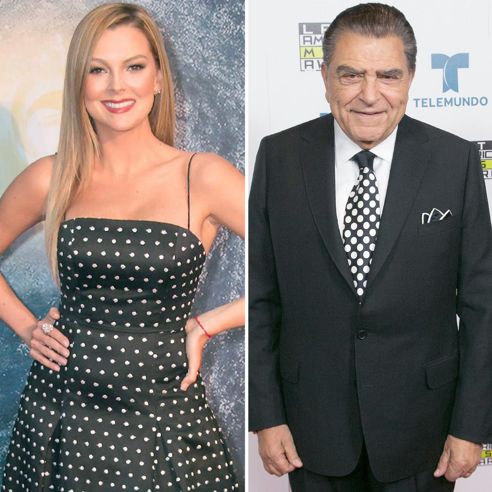 Marjorie de Sousa y Don Francisco