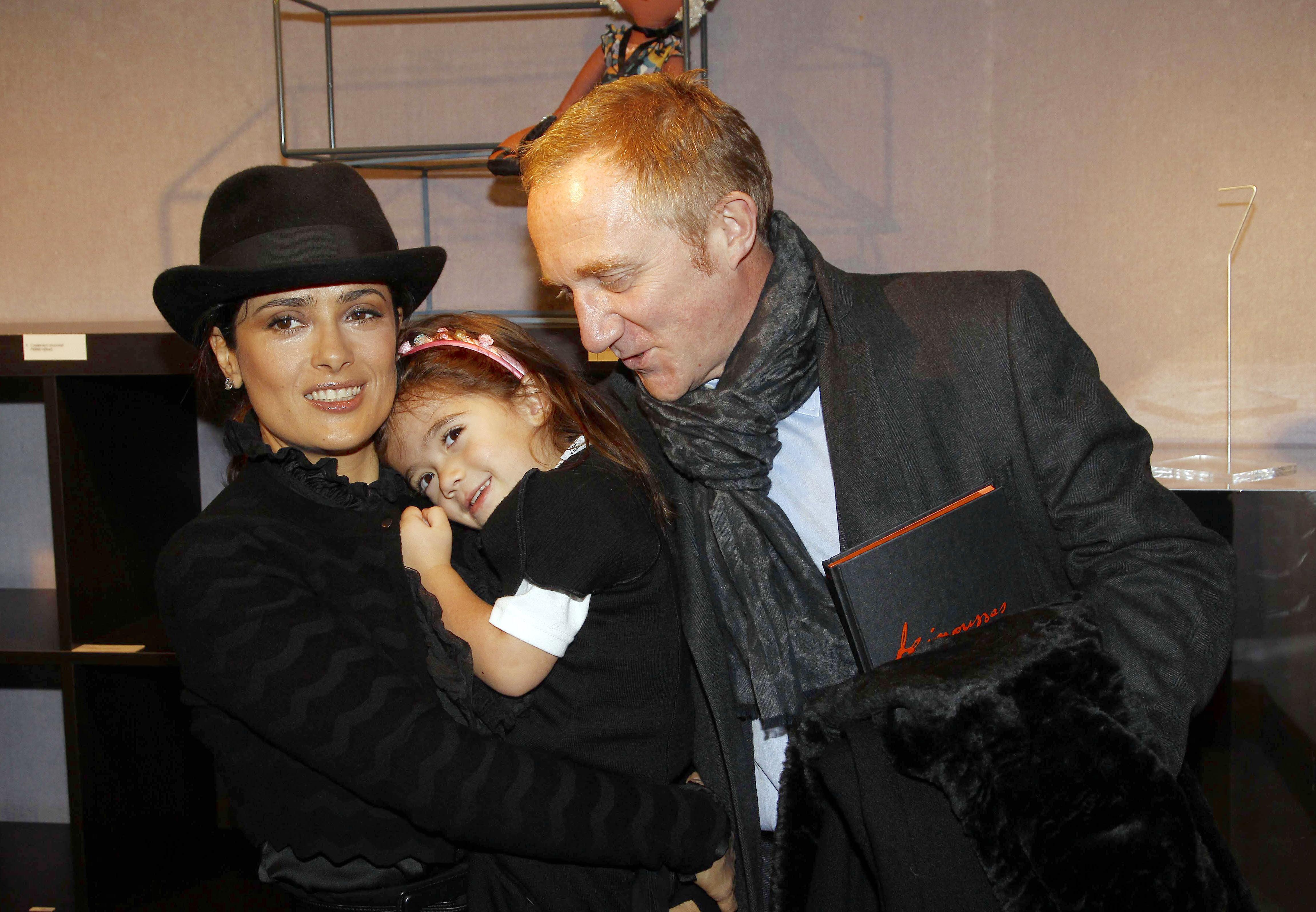 Salma Hayek familia