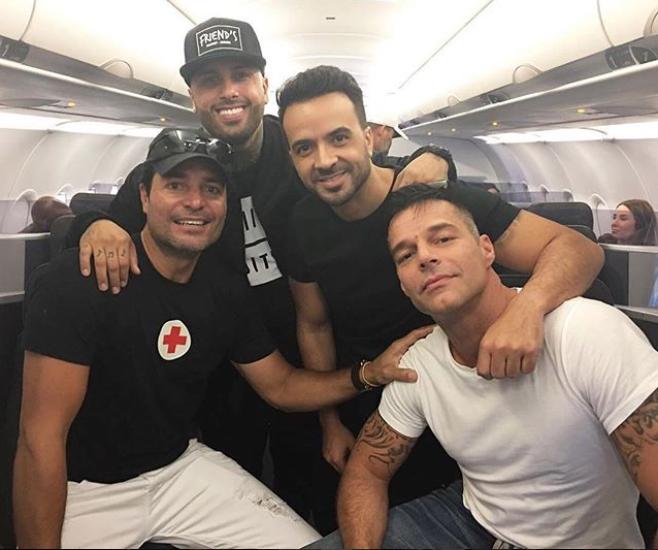 Chayanne Nicky Jam Luis Fonsi Ricky Martin