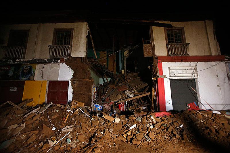 chile, terremoto