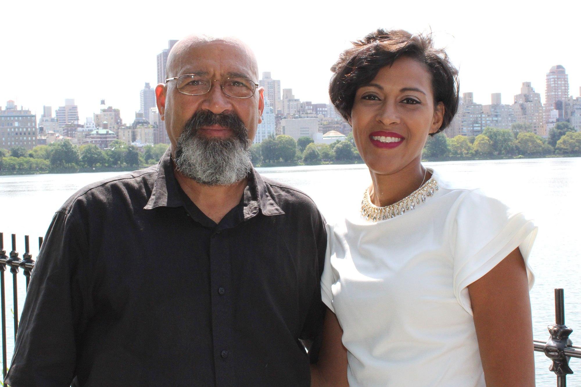 Arnaldo y Vanessa Silva