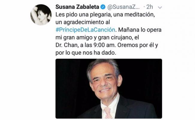 Susana Zavaleta/ José José