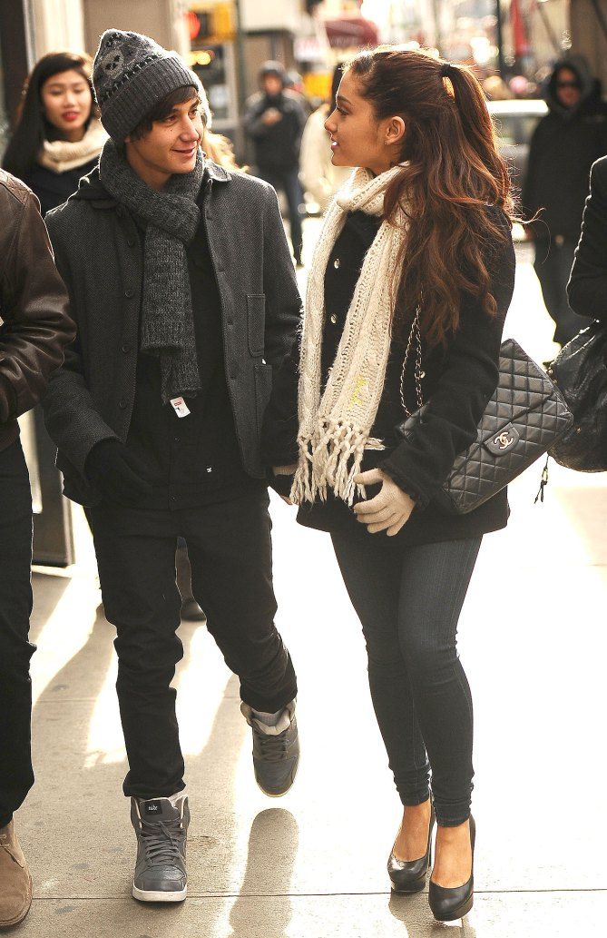 Ariana Grande y Jai Brooks
