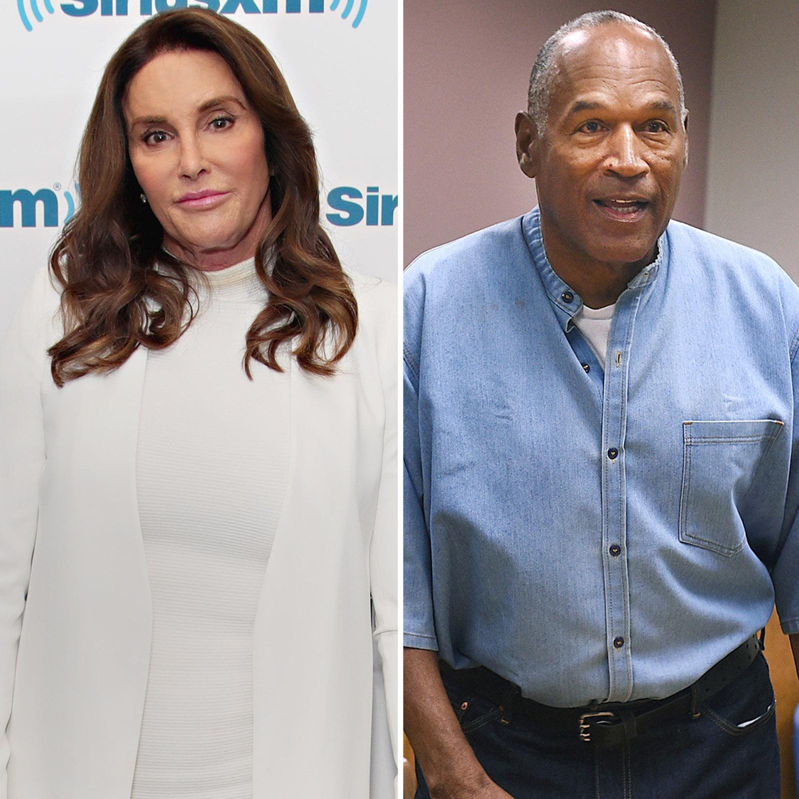 Caitlyn Jenner y O.J. Simpson