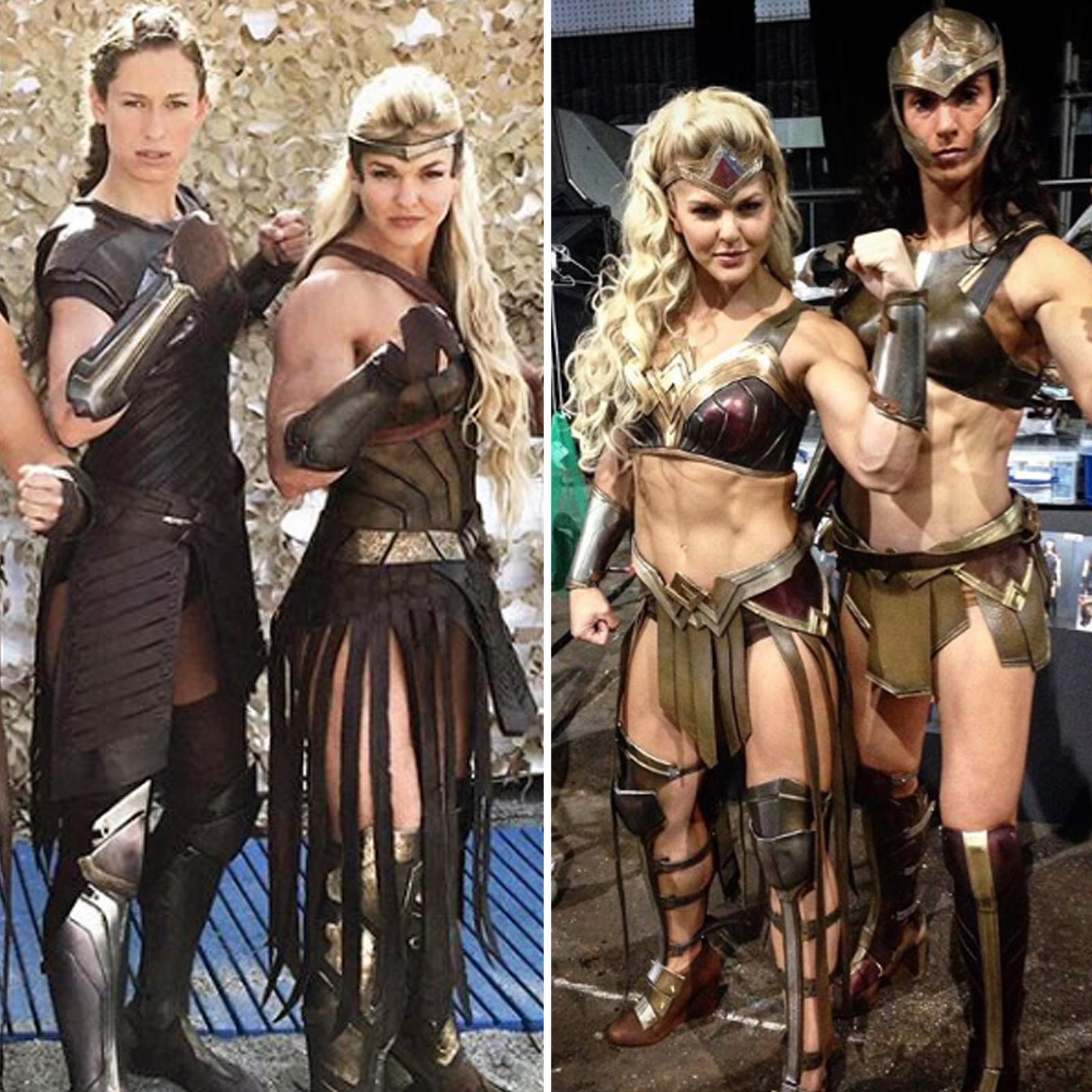 Justice League VS Wonder Woman