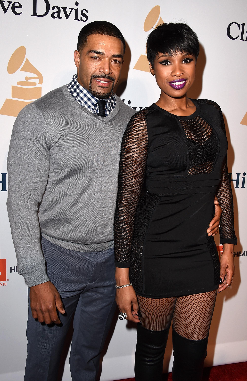 Jennifer Hudson y su esposo David Otunga