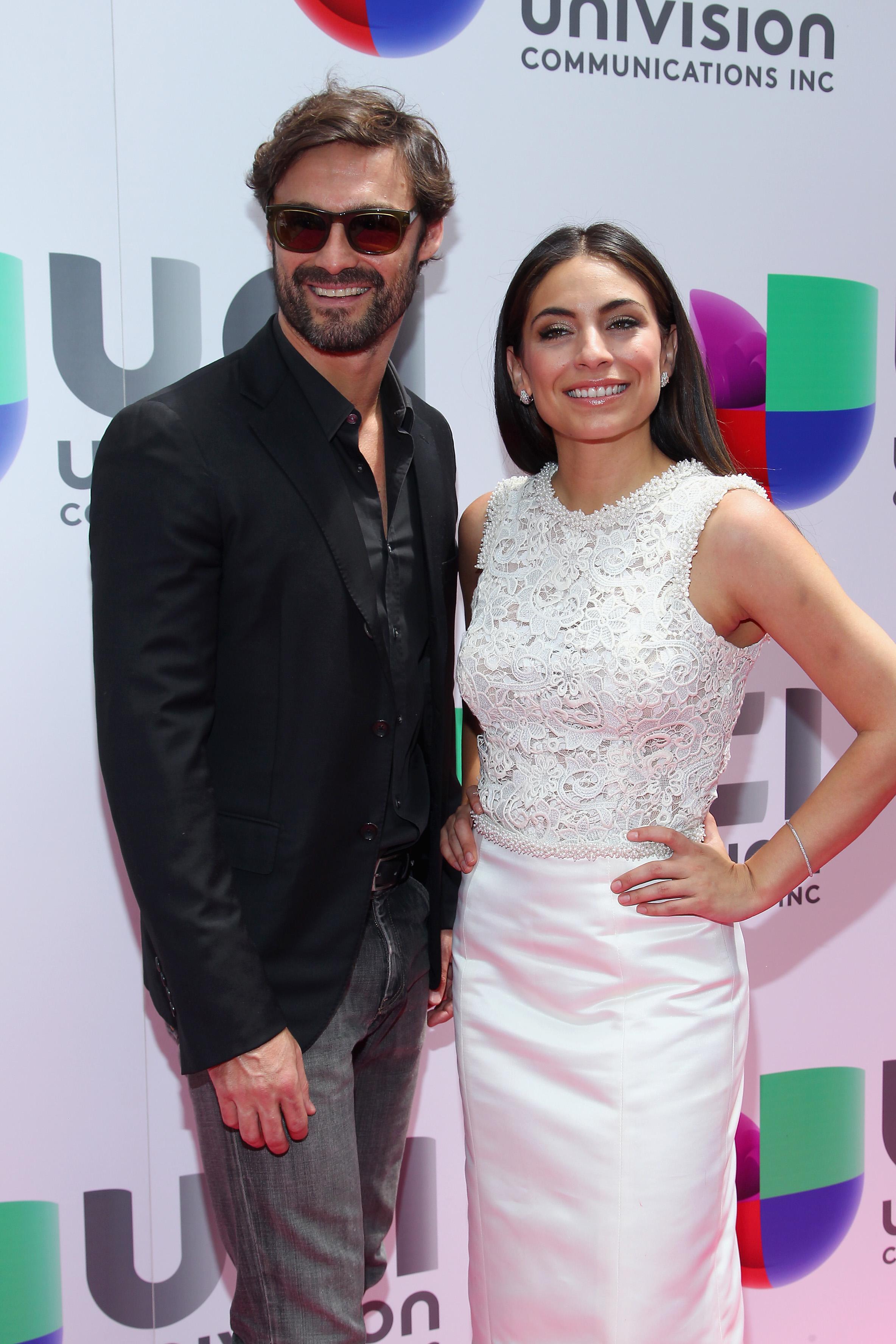 Ana Brenda Contreras e Iván Sánchez