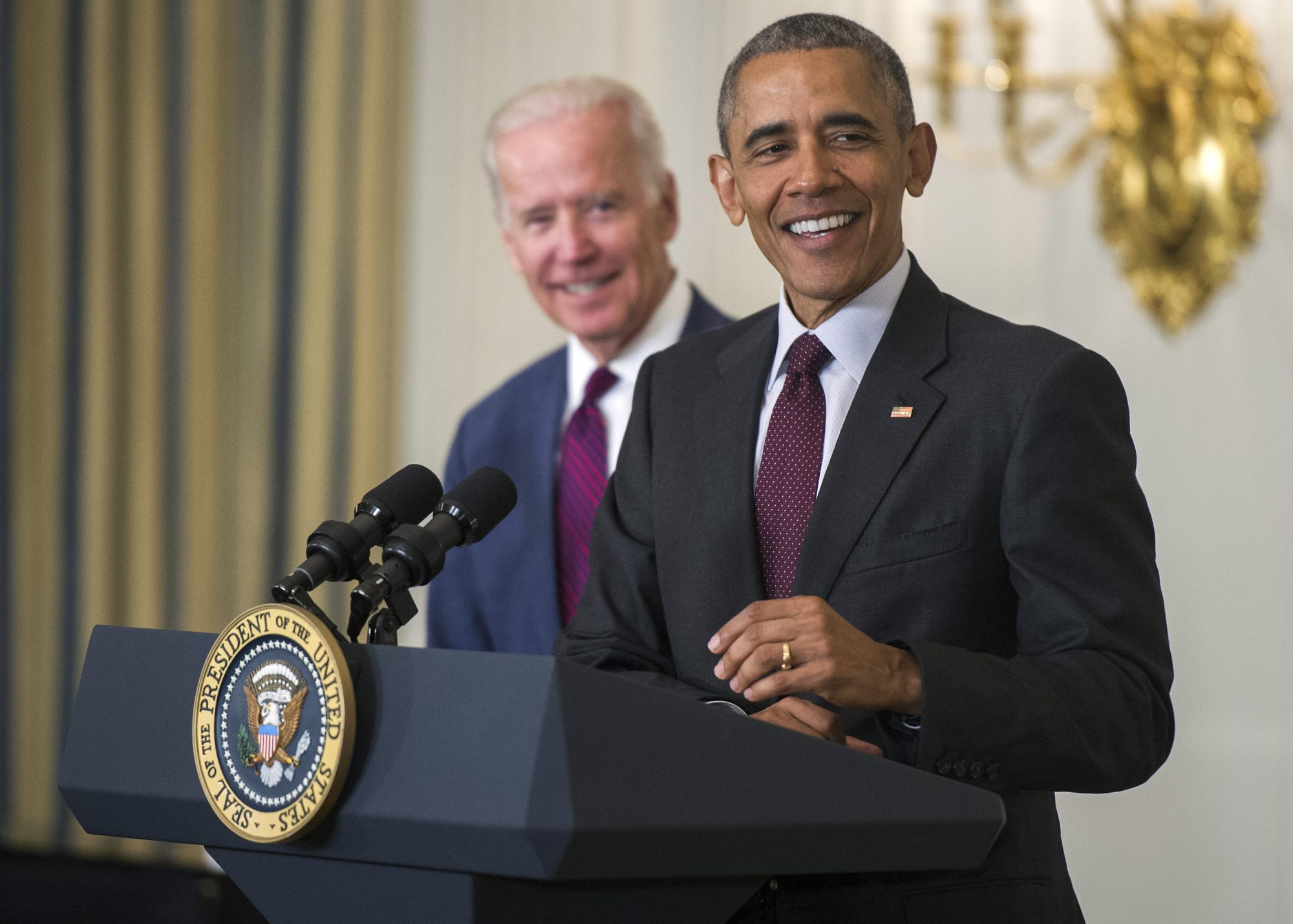 Joe Biden y Barack Obama